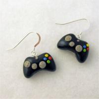 Controller earrings