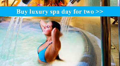 Luxury spa day for 2 anniversay gift, buy now