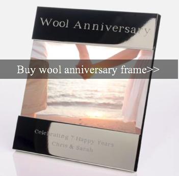 7th Year Wedding Anniversary Gifts And Ideas Woolen Wedding