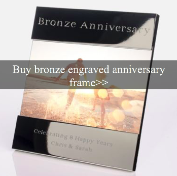 8th Year Wedding Anniversary Gifts And Ideas Bronze