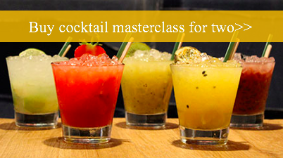 Cocktail master class for 2 anniversary gift