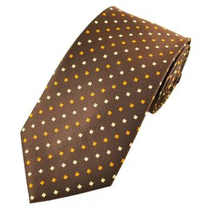 Buy him this copper coloured tie for his anniversary gift