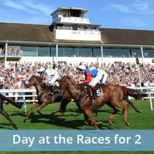 Buy a day at the races for 2 in with 16 locations to choose from.