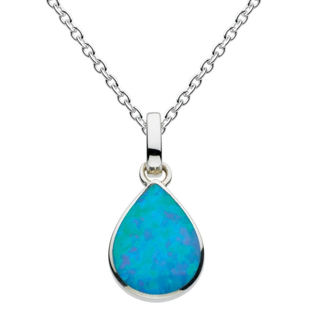 Buy her this opal pendant for her anniversary gift