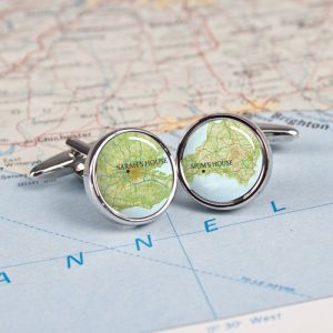 How about some personalised atlas cufflinks for his 28th anniversary