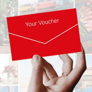 Give the couple a gift voucher from red letter days.