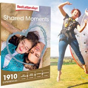 Shared moment days from Red Letter days are a great anniversary gift for couples.