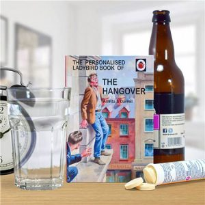Buy them this Personalised hangover book for this anniversary gift.