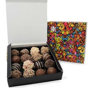 Buy her the grand truffle collection from Montezumas.