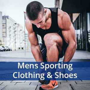 Buy him some sporting clothes or shoes