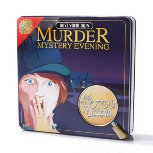 Buy them a murder mystery game to play with friends.