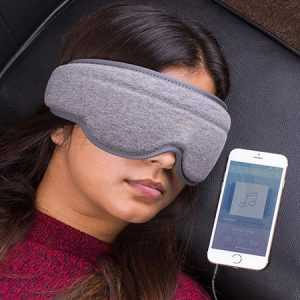 Buy her a music sleep mask for the 24th wedding anniversary.