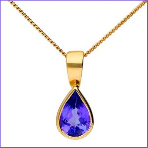 Buy her some Tanzanite jewellery for the 24th anniversary.