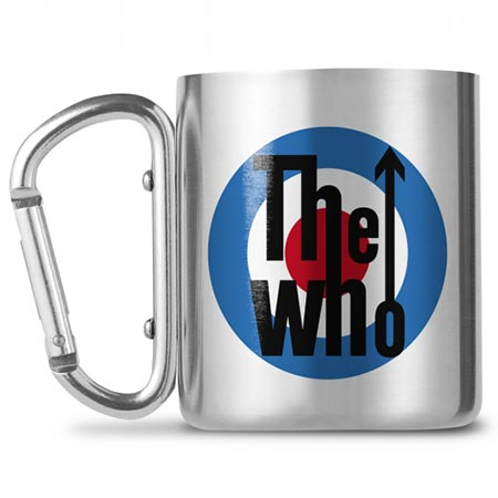 Buy him The Who logo mug, plus other bands to choose from.