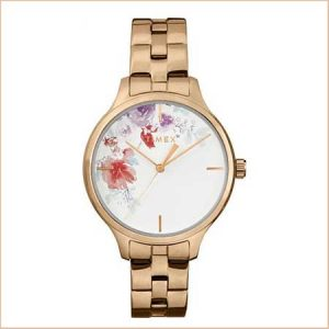 Buy her Timex rose gold watch for this anniversary.
