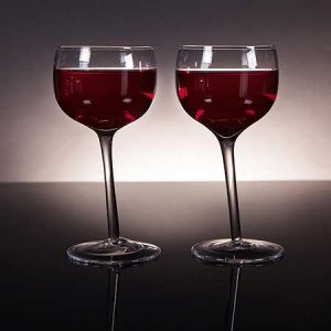 For fun buy them a pair of tipsy wine glasses.
