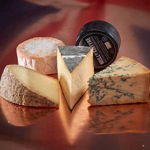 Buy them the best of british cheese gift box for their anniversary gift