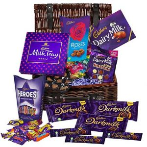 Buy them The Darkmilk and Dairymilk collection in a basket.