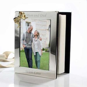 Buy the couple or parents an engraved photo album.