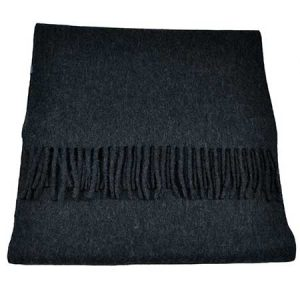 Buy him Tresanti Celeste 100% Finest Mongolian Virgin Wool Plain Dark Blue Scarf