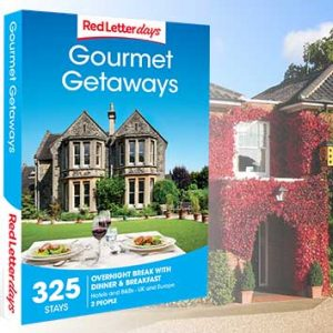 Treat them to a gourmet getaway for 2, many locations to choose from