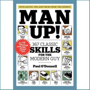 Buy him a fun gift like the Man Up - 367 Classic Skills for the Modern Guy