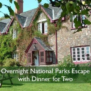 Buy Overnight National Parks Escape with Dinner for Two.