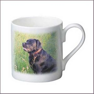Buy him a personalised photo bone china mug