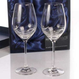 Buy them some Personalised Swarovski Crystal Wine Glasses