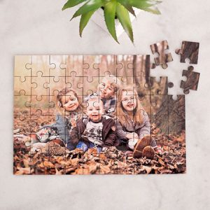 Buy them a personalised photo upload jigsaw