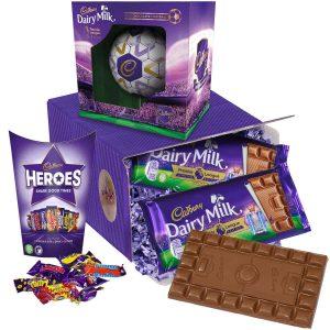 Buy him the Cadbury Gifts Direct Chocolate Football gift Box