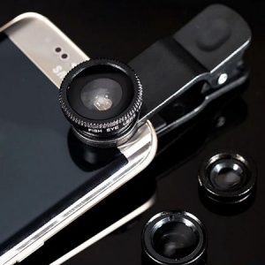 Buy him a 3 in 1 smartphone camera and lens for this anniversary gift