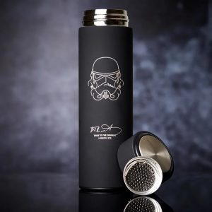 Buy him the stormtrooper vacuum flask