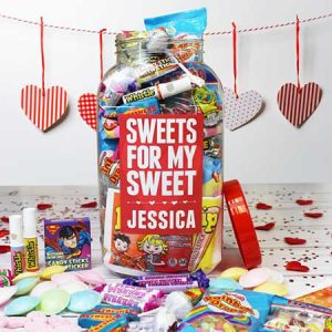 Buy her a personalised sweets for my sweet jar