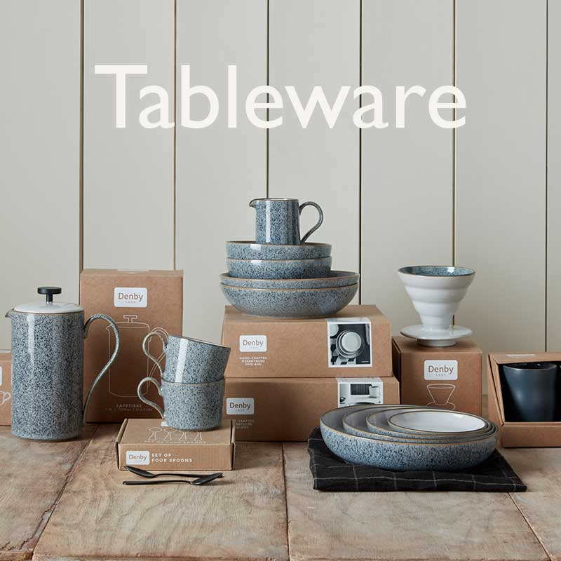 Buy some tableware for an anniversary gift.