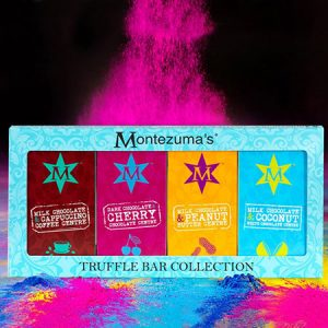Buy her a Truffle Bar Gift Collection Box from Montezuma´s