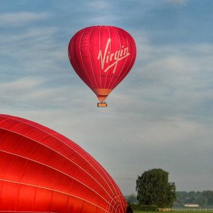 Buy them a romantic virgin balloon ride for their anniversary gift.