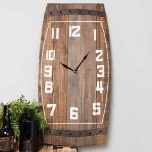 Buy them a Brewmaster barrel style Clock.