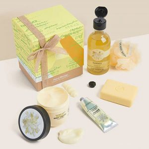 Buy her Floral Moringa Pampering Essentials from The Body Shop