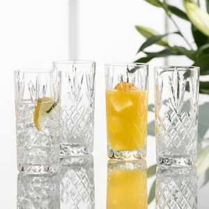 Buy them a set of Galway Hi-Ball Crystal Glasses