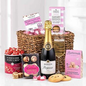 Buy her the ladies favourite gift box for this anniversary gift