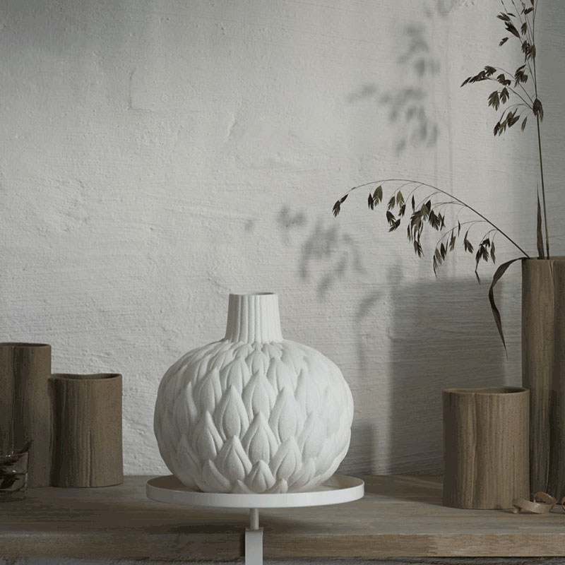 Buy them a gift for home, Lindform Relief Astrid Cream Vase.