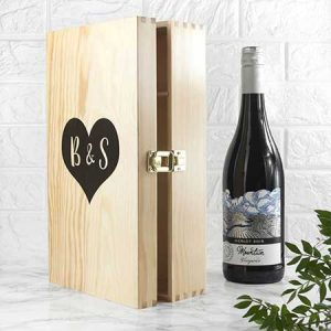 Buy them the lovers double wine box gift