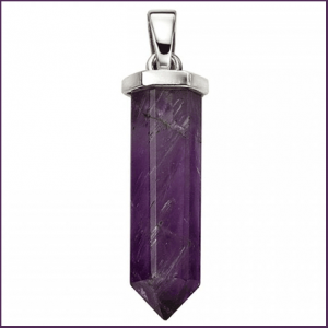 Buy him Sterling Silver Amethyst Pendant