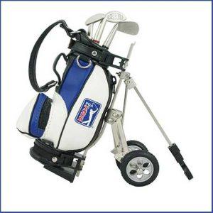 Buy him the Model Golf Bag And Cart Pen Holder