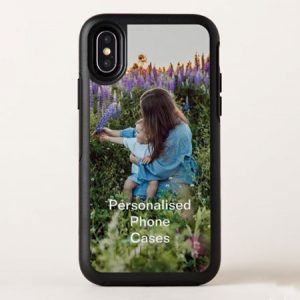 Buy her a personalised photo upload phone case for this anniversary gift.