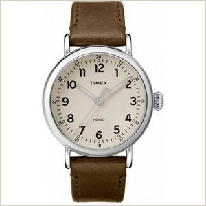 Buy him a Gents Timex Quartz Analog Green Watch