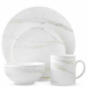 Start there collection of Vera Wang Venato dinner set as this anniversary gift.