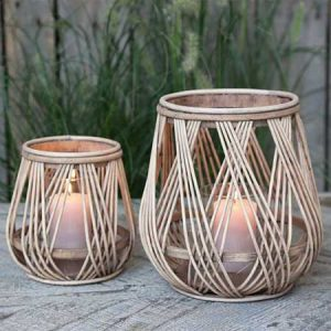 Buy them these Bamboo Lanterns for their anniversary gift