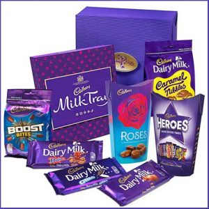 Buy her the Cadbury combination gift for this anniversary gift